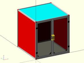 Parametric Enclosure based on Openbuilds Modular Enclosure System