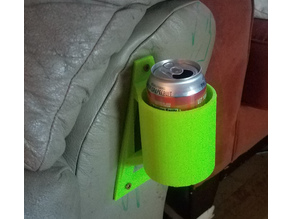 Cup Holder with Mounting Holes