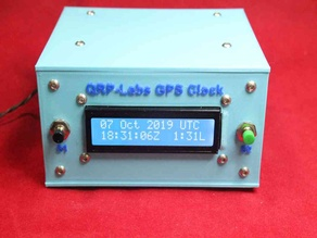 QRP-Labs GPS Clock Case for the supplied small LCD