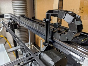 Flsun Cube Y axis cable rail