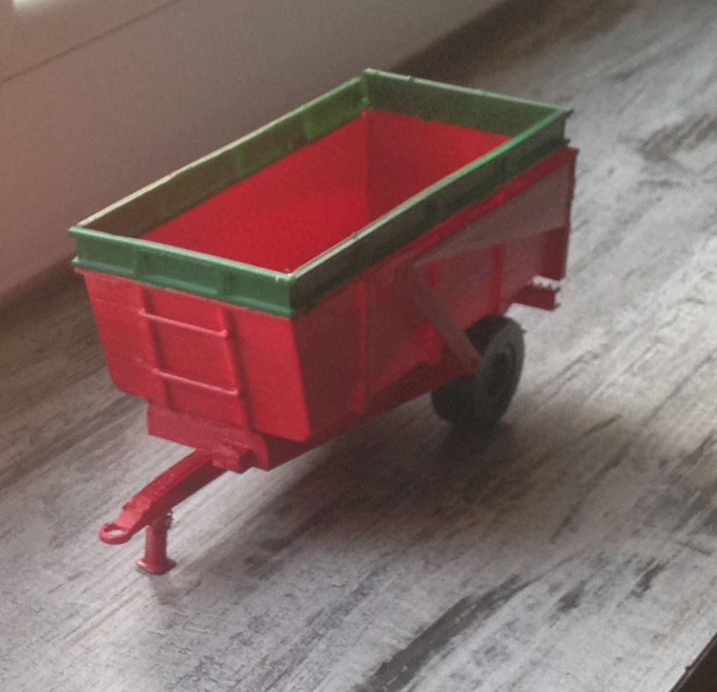 siku trailer danel 8 tons V2 ( remorque 8 tonnes)