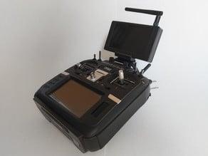 FPV Monitor Mount Holder (Radiomaster TX16S, Jumper T16, Desk)