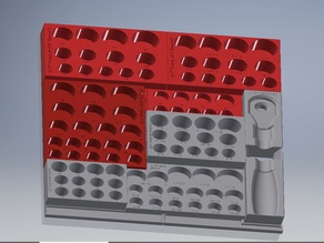 "1/2"" Socket Drawer Organizer"