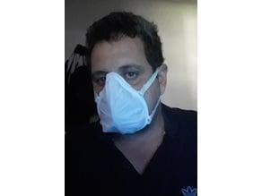 Barbijo Mascarilla Respirator Mask
