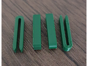 2 mm wide clips