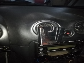Holder for Baofeng BF888 PMR Radio in an MX5 Miata