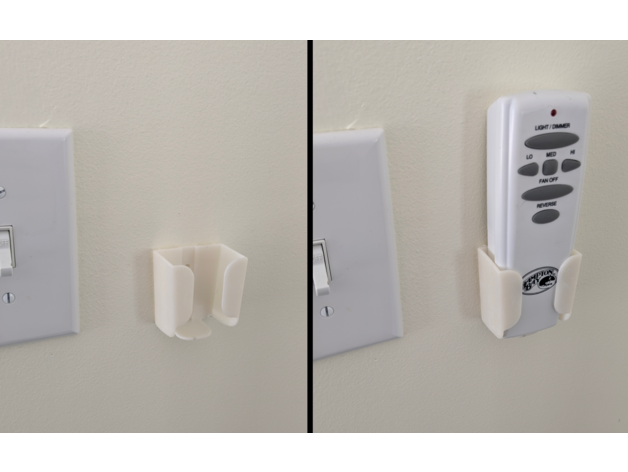 Ceiling Fan Controller Remote Wall Mount Hampton Bay By Ioi671701 Thingiverse