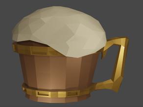 Low poly beer mug (WIP)