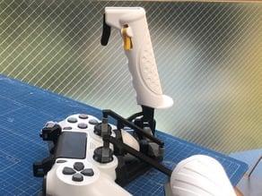 PS4 DualShock Joystick HOTAS / HOSAS