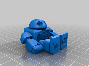Get Crackin' HLModTech Robot - Prints in Place
