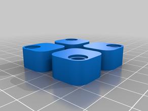 Printbed level puffer (e.g. Anycubic i3 Mega S)
