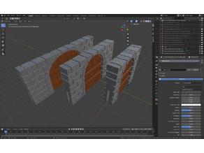 OpenForge Cut-Stone Dungeon Sticks V3 (Set 1)