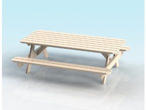 1:32 SCALE PICNIC BENCH