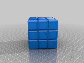 3X3 Rubik's Cube Model
