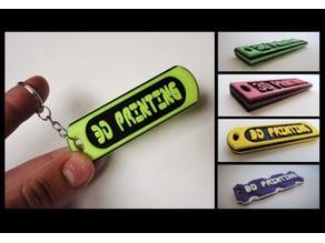 Key Tags - 3D Printing