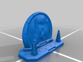 Necron Space Portal with base