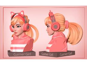 Gamer Girl Bust
