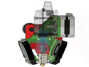 BMG Direct Drive Mount Tevo Tarantula Pro / Flash