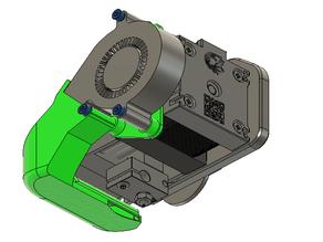 Universal E3D Hemera Part Cooling Duct for 5015 Blower