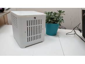 Mini-ITX Media Center PC (8L)