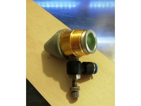 Laser cutter nozzle extension