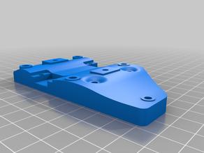 Folgertech FT-5 FT-6 SOLID direct drive extruder mount Remix