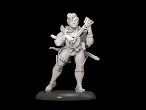 Bard 28mm for dnd