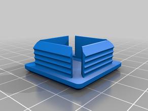 My Customized custom plug/cap for square or rectangular tube22