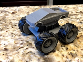 Mini Monster Cybertruck With Suspension