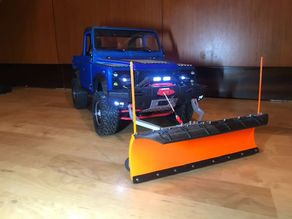 3D printed Snow  Plow for RC cars and 3Dsets cars