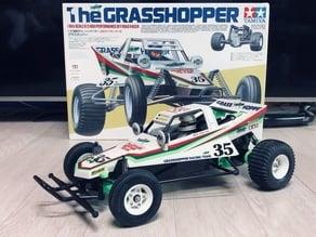 Tamiya Grasshopper upgrade parts : Front suspension