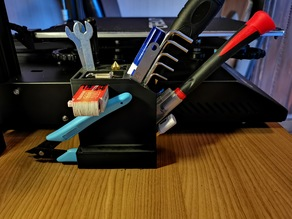 Tool holder for Creality CR-10S Pro / Werkzeughalter
