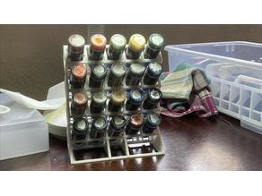 Customizable Paint Dropper Rack