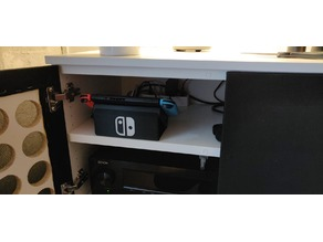 Nintendo switch angled dock stand