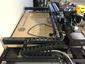 X-Carve Dual Drag Chain for Water Cooled Spindle