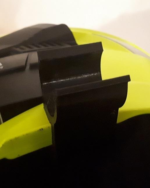 Olight S30 Baton Clamp for MSA Gallet F1 XF