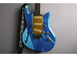 Polycaster - 3D Printed Guitar
