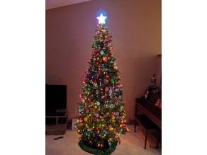 Lighted Christmas Tree Topper - Dotstar