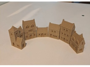 Wee Burgh Medieval Town or City (stone set01/02)