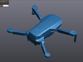DJI Mavic Mini - 3D Laser Scanned