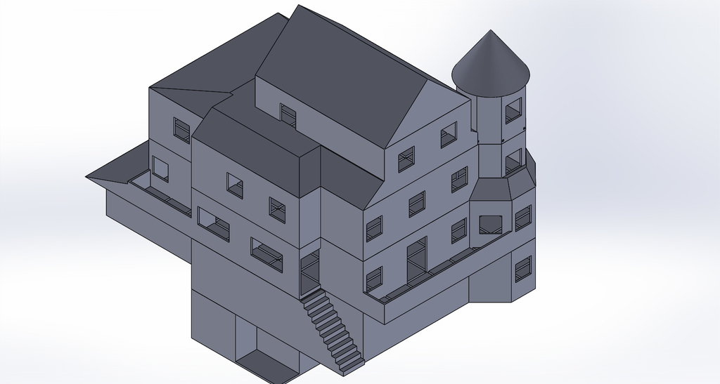 Troll Skull Manor(Playable Building 2nd Floor)
