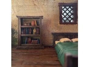 Bookshelf and Cupboard