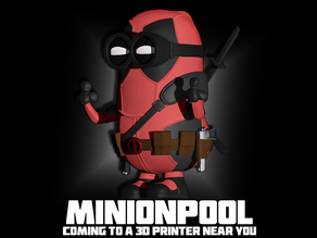 Minionpool (Deadpool) Mini Figure