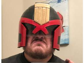 Judge Dredd Visor Removed