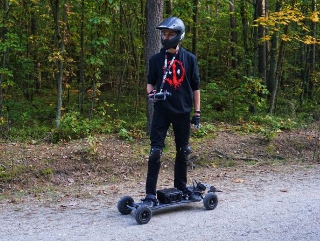 Electric Mountainboard Motor and Vesc Mount