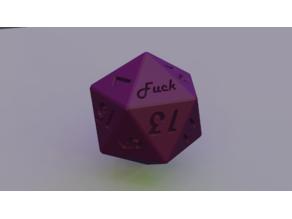 D20 - Crit / Fuck