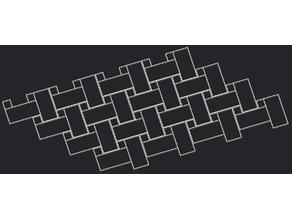 Pattern - Big Square, 4x Small square - Single