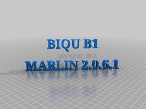 BIQU B1 Bltouch Homing Firmware Marlin 2.0.6.1