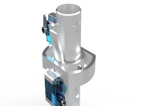 Delta Thrust Vector Control System Gimbal V8
