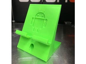 Wide Android phone stand / holder